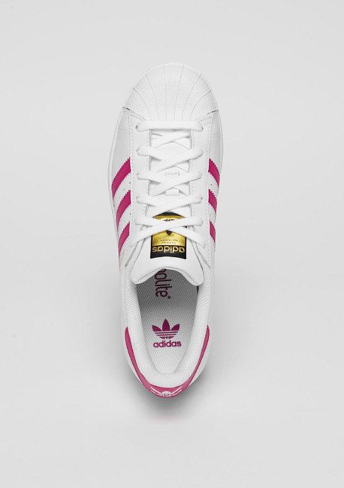 adidas Superstar Foundation white/bold pink/white