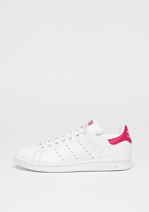 adidas Stan Smith Lea white/white/bold pink