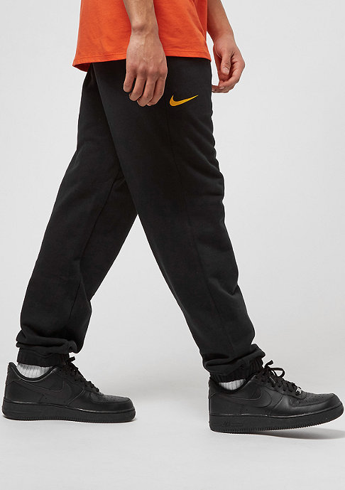 NIKE CLE M CF FLC Club black/university gold