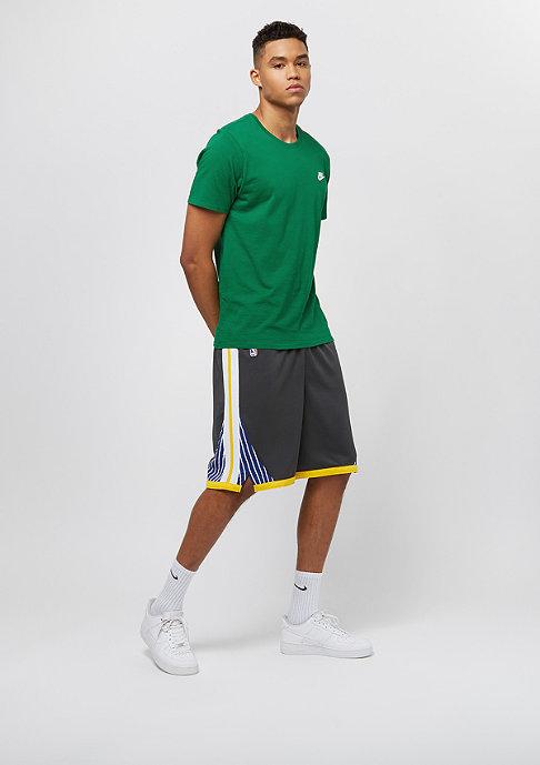 NIKE Golden State Warriors Swingman Short anthracite/white/amrillo/amarillo