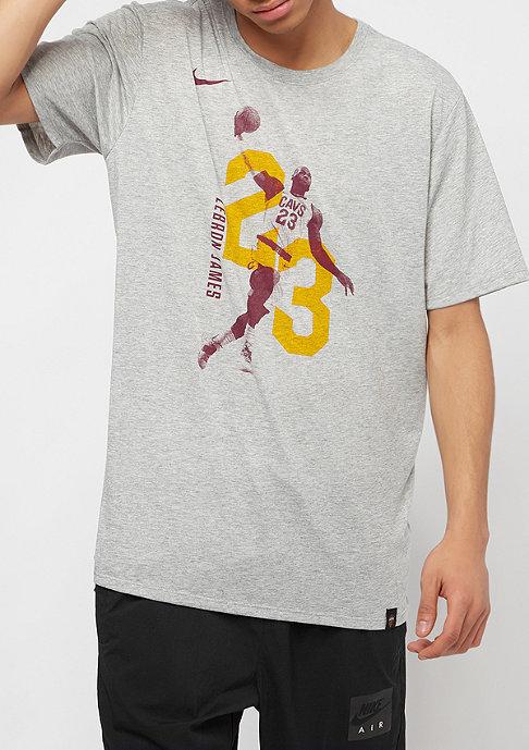 NIKE Basketball NBA Cleveland Cavaliers EXP Player dk grey heather
