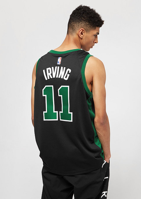 NIKE Basketball Jersey NBA Boston Celtics Irving Swingman black/team red/university gold