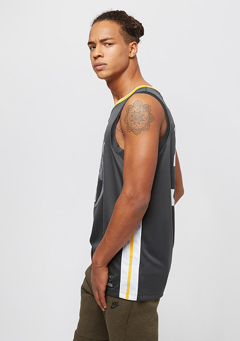 NIKE Basketball Golden State Warriors Swingman anthracite/white/marillo