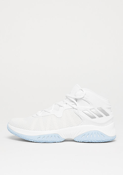 adidas Basketball Explosive Bounce white/silver metallic/solid grey
