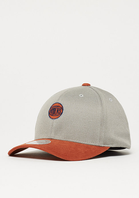 Mitchell & Ness NBA Hyper Tech Wool Crown New York Knicks grey/orange