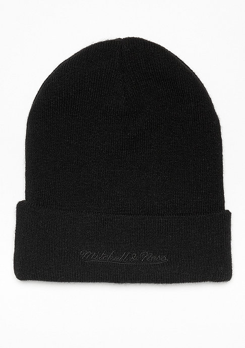 Mitchell & Ness Patch Cuff Knit black