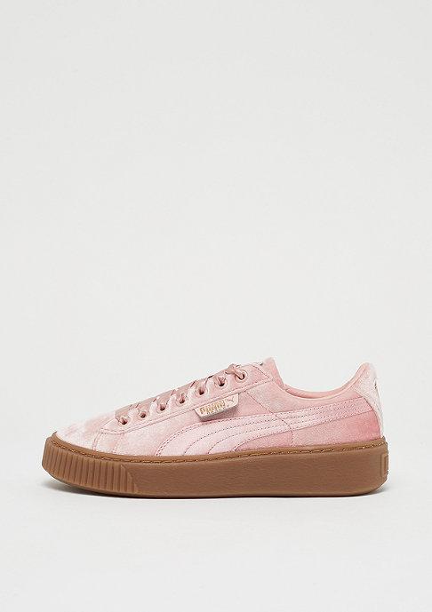 Puma Basket Platform silver pink-gum