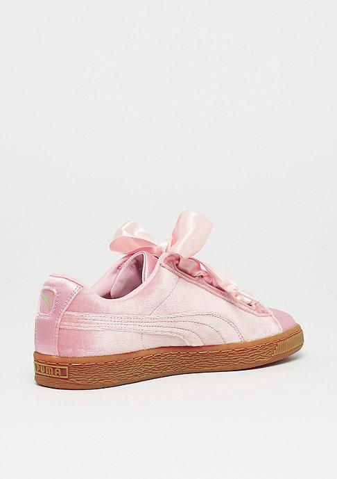 Puma Basket Heart VS silver pink-gum