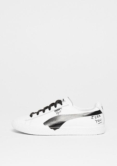 Puma Clyde SM white-black