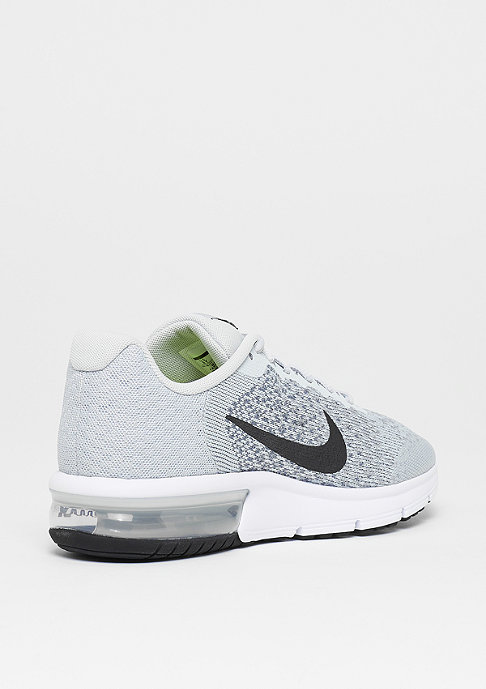 NIKE Running Air Max Sequent 2 pure platinum/black-cool grey-wolf grey
