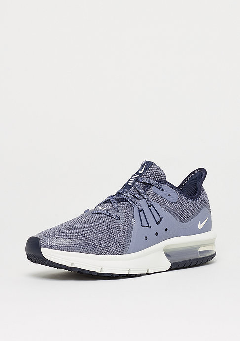 NIKE Air Max Sequent 3 (GS) obsidian/summit white-dark sky blue