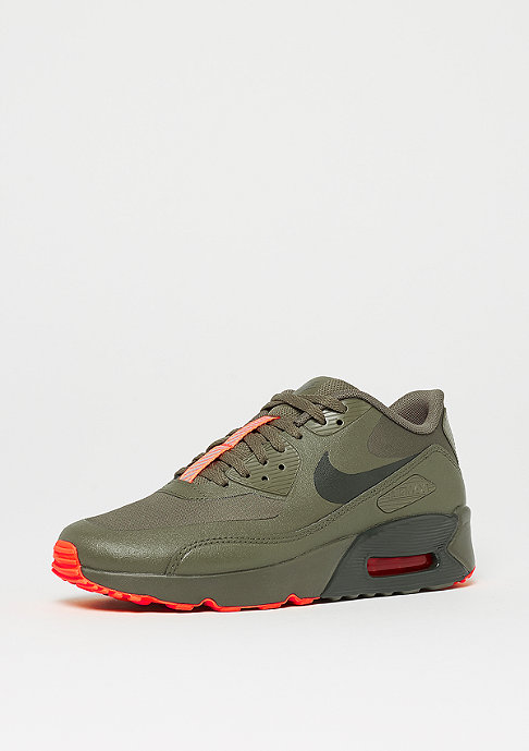 NIKE Air Max 90 Ultra 2.0 LE (GS) medium olive/sequoia-total crimson