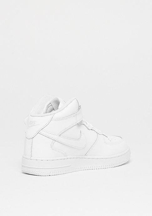NIKE Air Force 1 Mid (PS) white/white-white