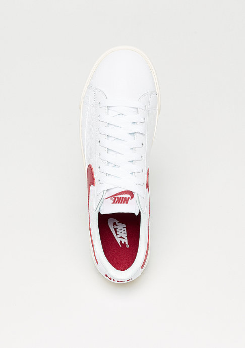 NIKE Wmns Blazer Low Premium white/speed red-white-sail