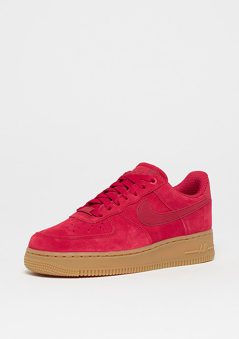 NIKE Wmns Air Force 1 07 SE gym red/gym red-gum light brown