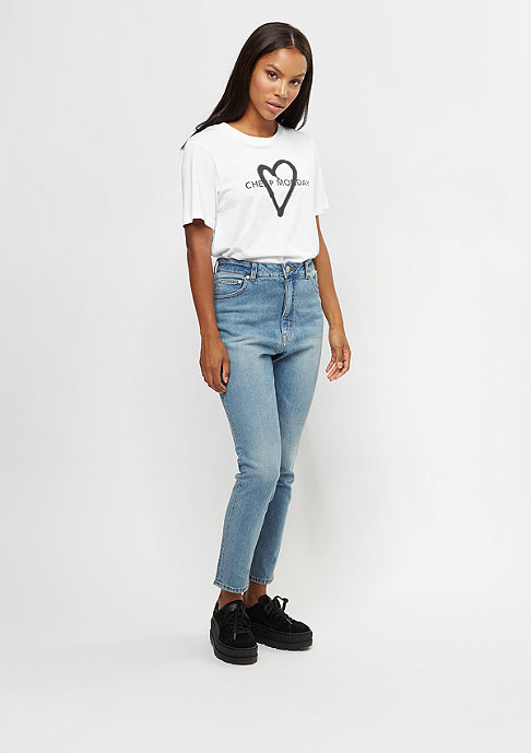 Cheap Monday Breeze Love Logo white
