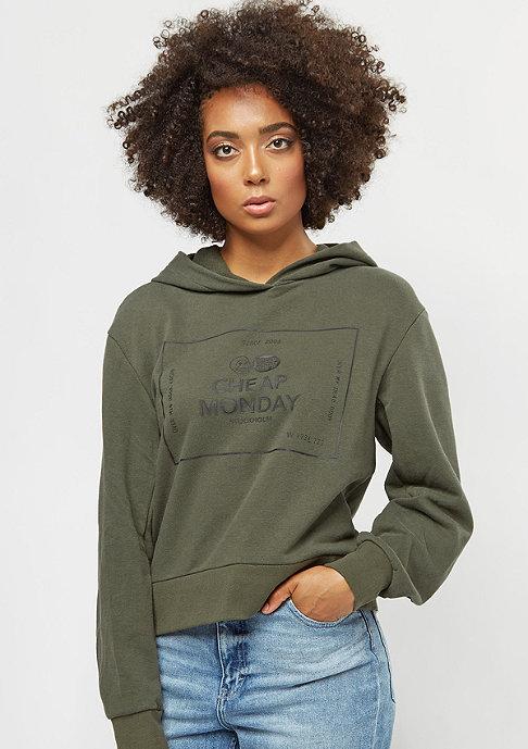 Cheap Monday Attract Box Logo mud green