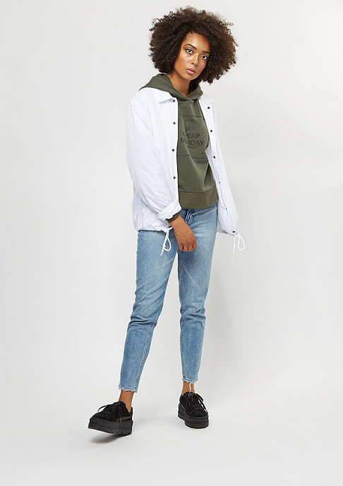 Cheap Monday Attract Box Logo mud green