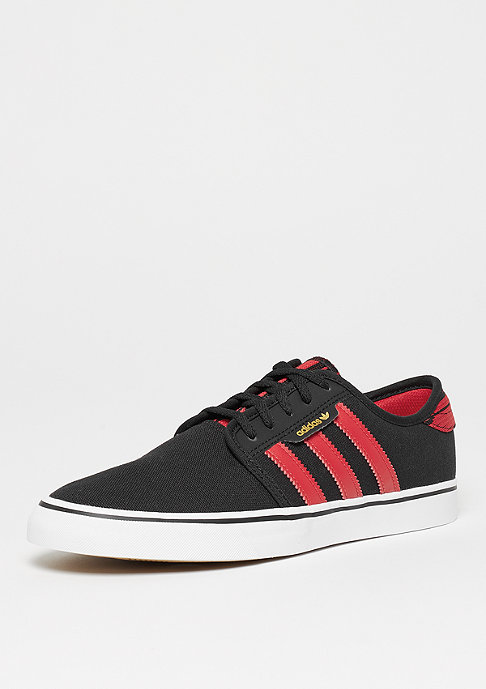 adidas Seeley Suede/Leather core black/scarlet/ftwr white