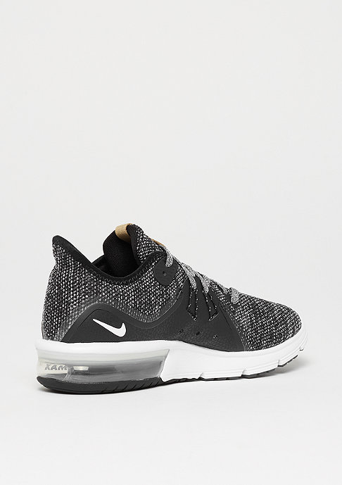 NIKE Running Wmns Air Max Sequent 3 black/white-dark grey