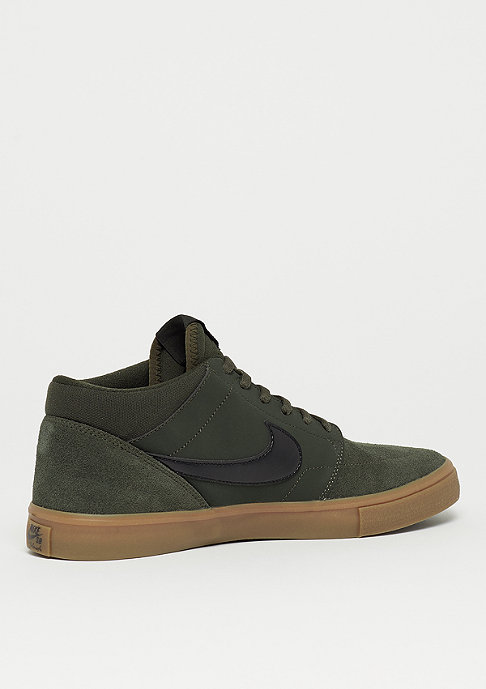 NIKE SB Solarsoft Portmore II Mid sequoia/black/gum medium brown