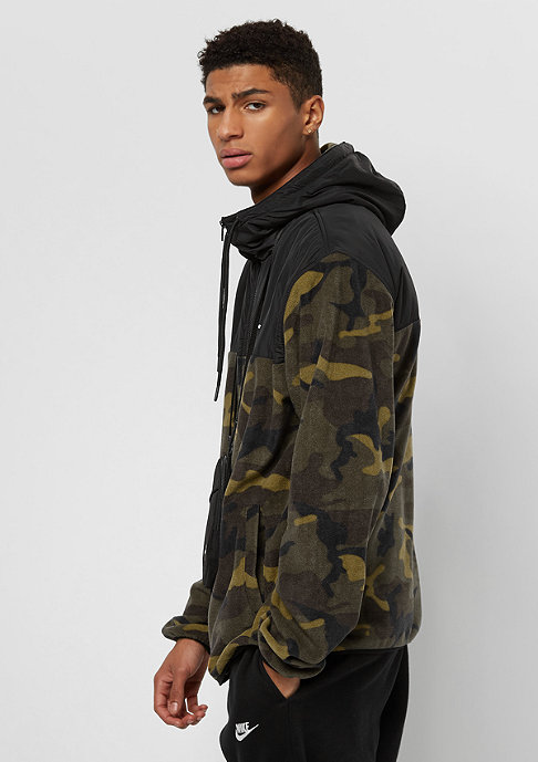 SNIPES Block Fleece black/camo