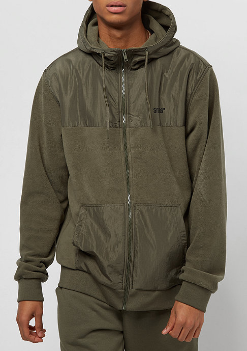 SNIPES Fleece olive night