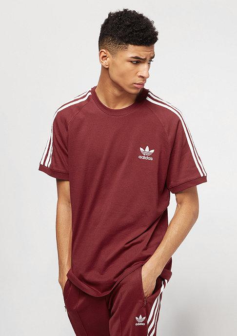adidas 3-Stripes rust red