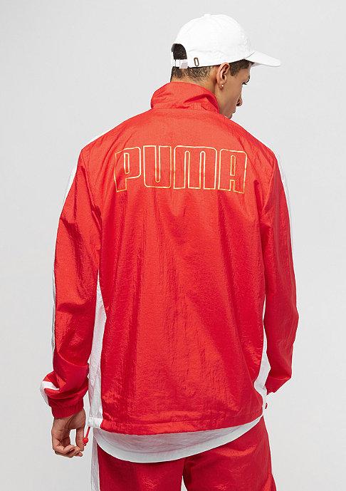 Puma T7 BBoy flame scarlet/white