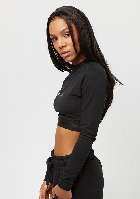 NIKE Crop Air black/black/black