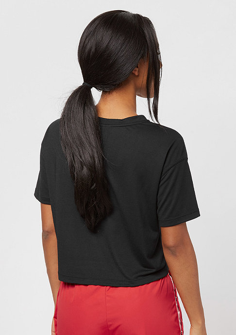 NIKE Essential Crop black/white