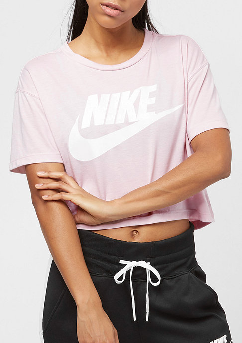 NIKE Essential Crop barely rose/barely rose/white