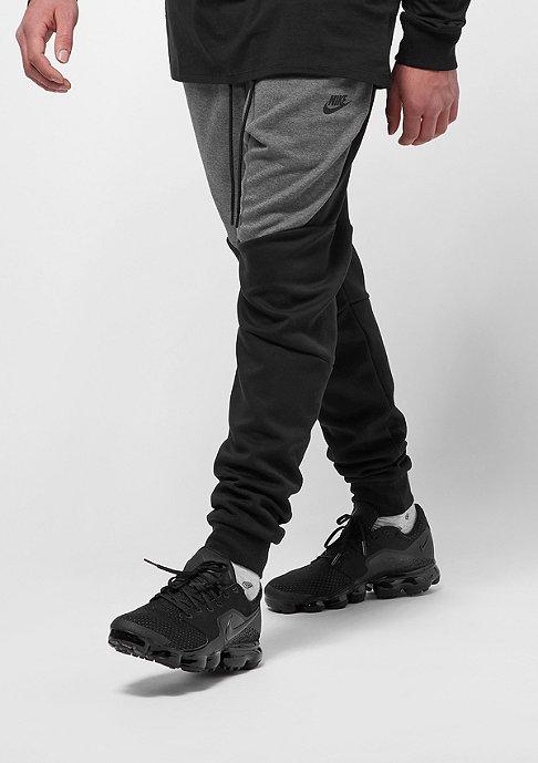 NIKE Tech Fleece charcoal heathr/black/black