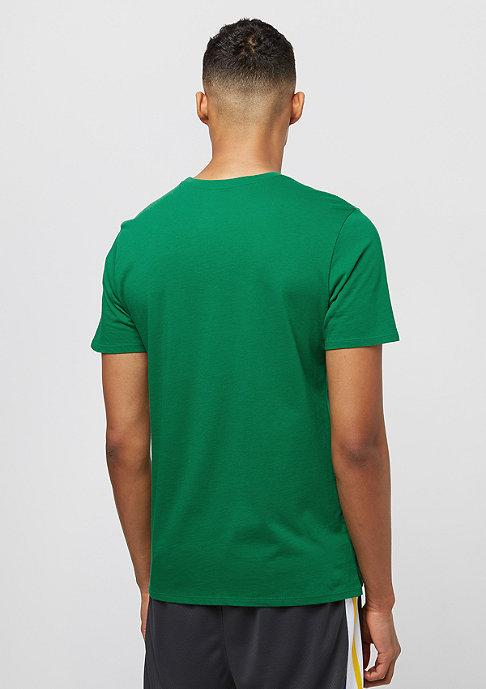 NIKE Club Embrd pine green/white