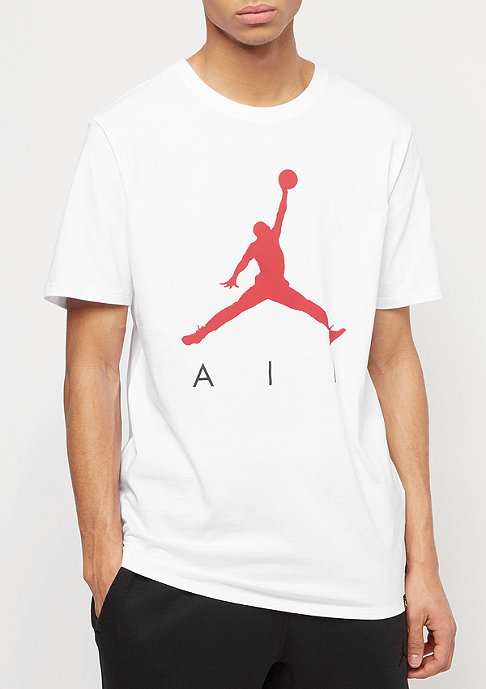 JORDAN Jumpman Air white/white/university red