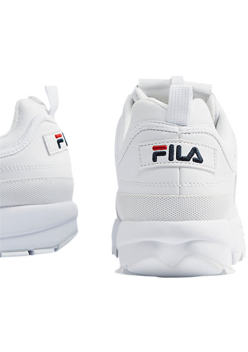 Fila Men Heritage Disruptor low white