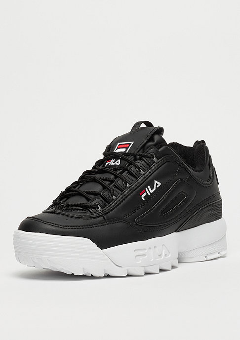 Fila Heritage Disruptor low black