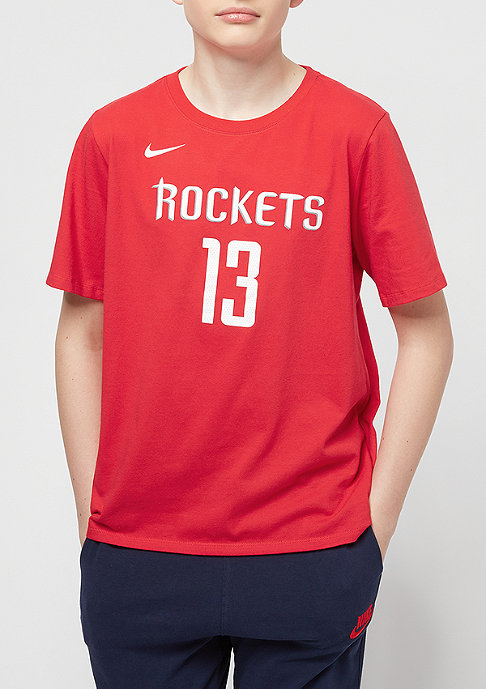 NIKE Houston Rockets James Harden red
