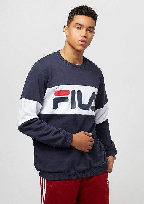 Fila FILA Urban Line Sweatshirt Straight Blocked Crew Peacoat
