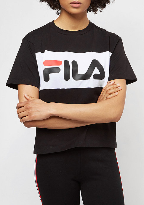 Fila Urban Line Tee WMN Allison black/white