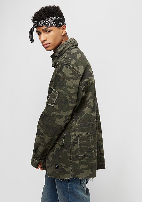 Cayler & Sons ALLDD Army Jacket Denim woodland camo