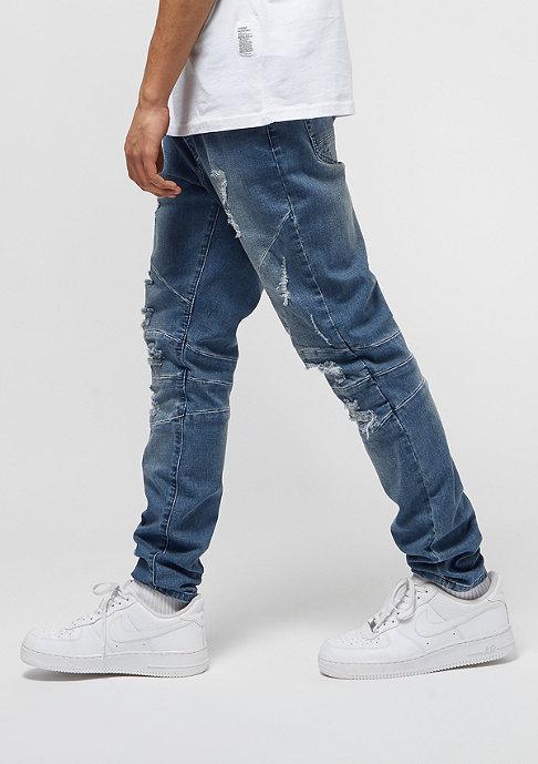 Cayler & Sons ALLDD Paneled Ian Denim Pants mid blue
