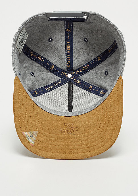 Cayler & Sons CL No Risk heather grey/sand