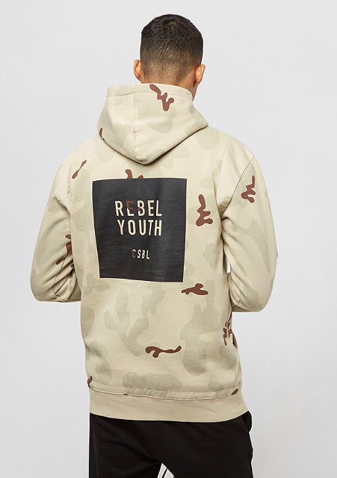 Cayler & Sons Rebel Youth Half desert camo/black