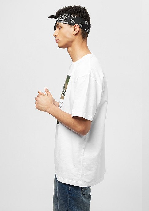 Cayler & Sons BL ED.02 Oversized Tee white/woodland camo