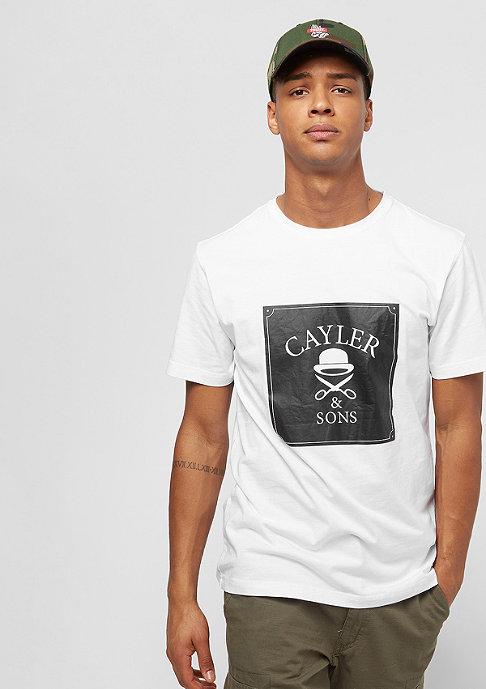 Cayler & Sons WL Box Tee white/black