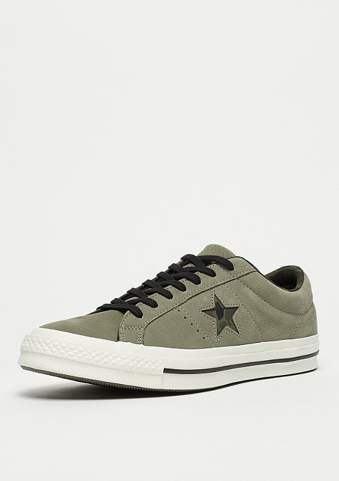Converse One Star Ox dark stucco/egret/herbal