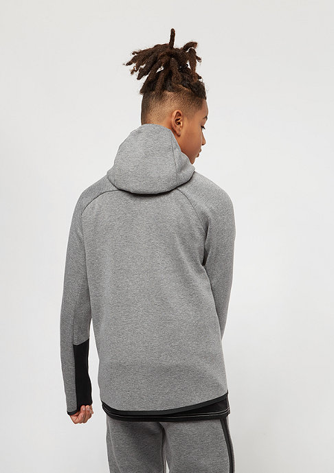 NIKE Junior Tech Fleece carbon heather/anthracite