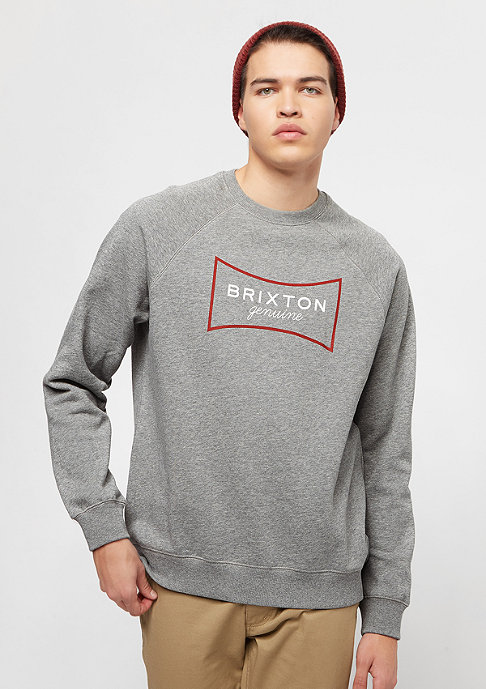 Brixton Ramsey III heather grey