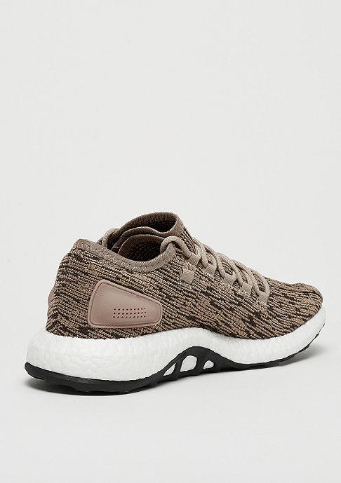 adidas Running PureBOOST trace khaki/cinder/cinder